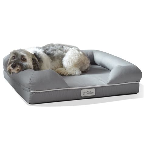 dog mattress bed petfusion ultimate dog bed lounge premium edition with