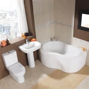Bath Shower Suite Milano Edern Corner Bath Suite
