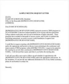 Request Letter To Client For Meeting Sle Letters For Meeting Request With A Client