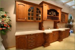Honey Oak Kitchen Cabinets Wall Color by Honey Oak Cabinets Home Design Ideas
