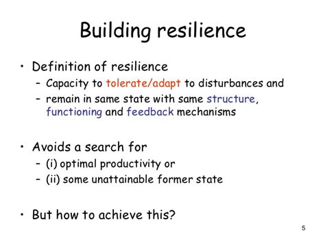 define refurbishment increasing resilience when undertaking restoration