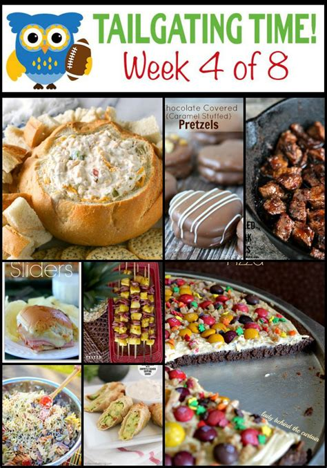 tailgating food ideas tailgating time week 4 or so she says