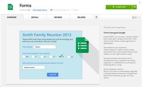 use google forms to create a survey techrepublic