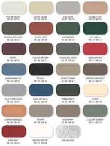 Valspar Colours United Steel Supply Color Offerings