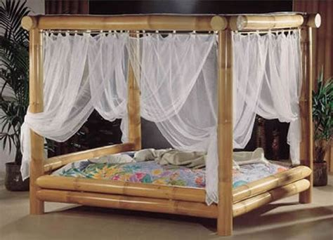 bamboo canopy bed bamboo bed canopy inside my island home pinterest