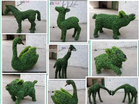 animal topiaries for sale sjza01 artificial topiary animal animal topiary frames