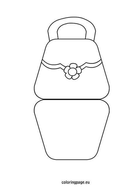 Handbag Template For Card by 1000 Images About S Day On Flower