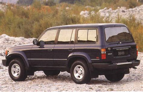 Toyota Land Cruiser 80 Toyota Land Cruiser 80 J8 Specifications Description