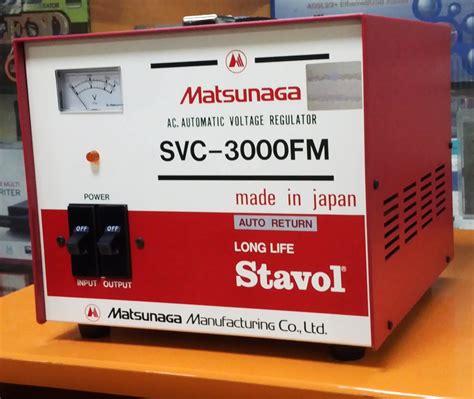 Stabilizer Listrik 6 Kva 3 Phase Matsuta sumberstavol stabilizer matsunaga 3000 fm