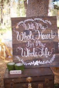 wedding signs diy 20 wedding signs we intimate weddings small wedding diy wedding ideas for small
