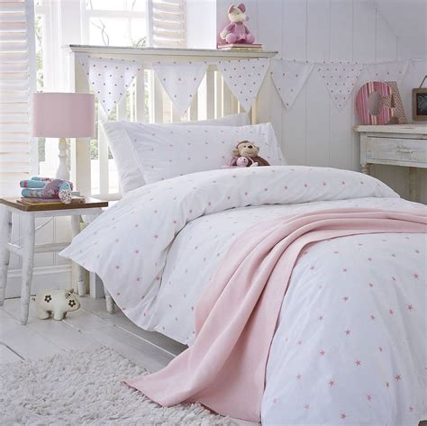 pink bed pink organic cotton bedding by the cotton company notonthehighstreet