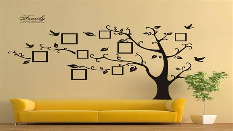 timber artbox large family tree photo frames wall decal timber artbox large family tree photo frames wall decal