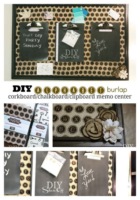 diy chalkboard message board best 25 burlap cork boards ideas on diy cork