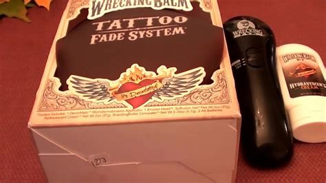 tattoo removal system wrecking balm fade system 47 reviews