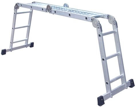Multi Purpose Ladder 14 in 1 multi purpose ladder with scaffold plates fast
