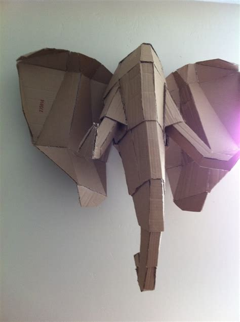 How To Make An Elephant Out Of Paper Mache - great base for a paper mache elephant diy
