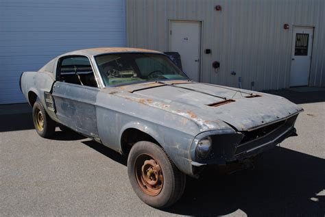 parts 1967 ford mustang fastback 2 door project for sale project 1967 ford mustang missing engine and trans for sale