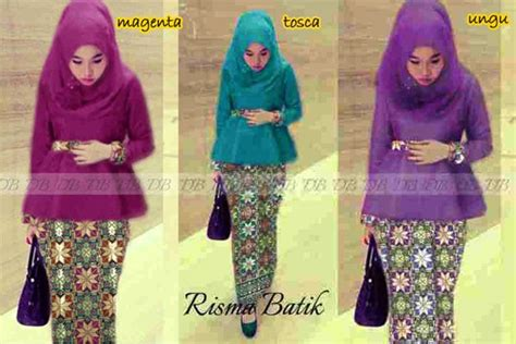 Set Brokat Tosca Ungu by Busana Pesta Songket Risma P893