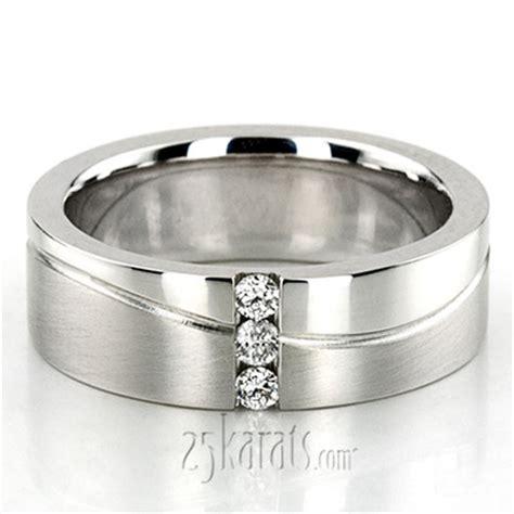 Wedding Ring Wave Design by Wave Design Wedding Ring Dw102007 Platinum