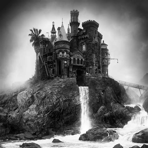 surreal on amazingly dark and surreal architecture by jim kazanjian a hollywood style horror scene