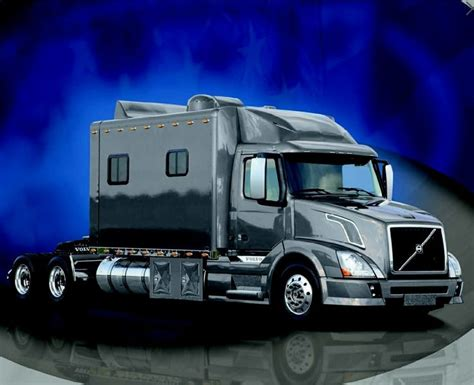 volvo truck sleeper cabs the gallery for gt luxury semi trucks cabs
