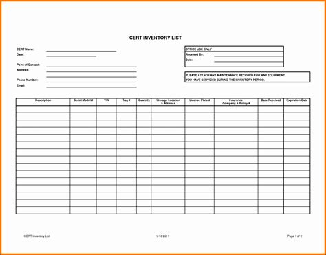 Card Checklist Template by 9 Office Checklist Template Sletemplatess