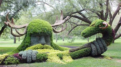 botanical  topiary sculptures   world