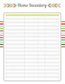 Blank Inventory Sheet Template by Photo Free Blank Spreadsheet Templates Images