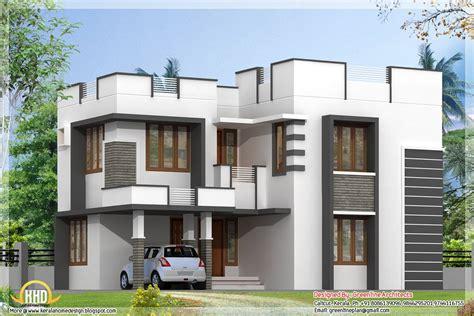 simple parapet design modern house