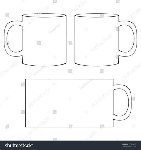 coffee cup template image gallery mug template