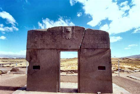 porta sole porta sole di tiwanaku antico calendario astronomico
