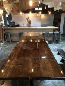 Thick Clear Coat Bar Tops Best 25 Epoxy Table Top Ideas On Resin Table