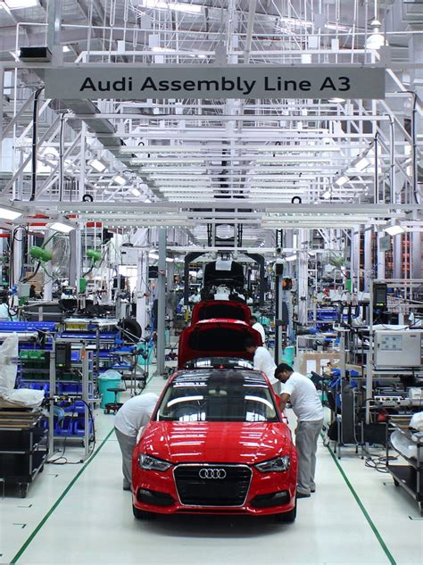 Audi India Factory by Audi India Starts Assembly Of The Audi A3 Sedan