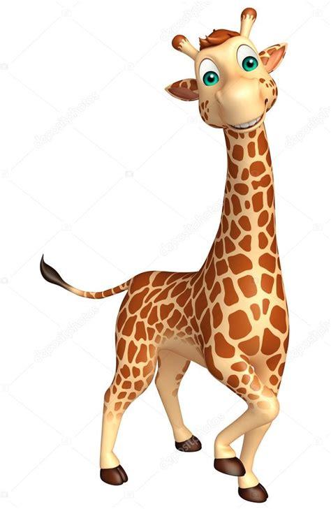 imagenes de jirafas animados walking giraffe cartoon character stock photo