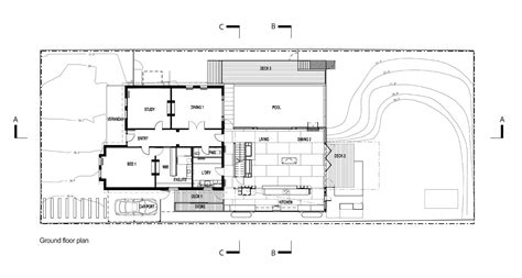 ben rose house floor plan gallery of the trojan house jackson clements burrows
