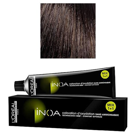 loreal permanent colour inoa ammonia free permanent colour pakcosmetics loreal professionnel inoa ld hair color 4 3 golden brown