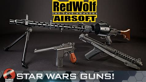 Syari Salwa Gamis wars guns the sale awakens redwolf airsoft rwtv