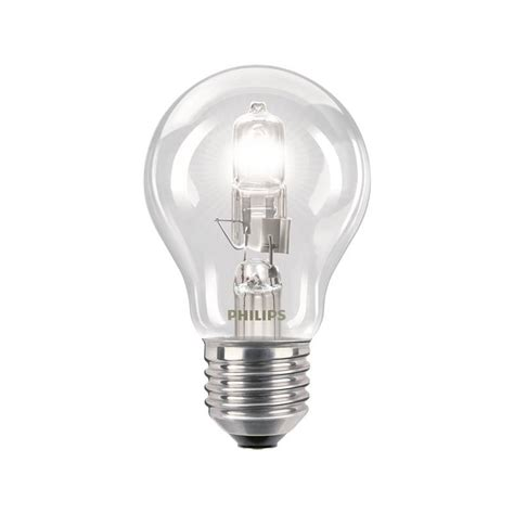 Hochvolt Halogen Sockel by Philips Hochvolt Halogenle Ecoclassic30 A Shape 42w E27 5 87 Eur