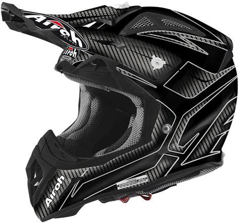 black motocross helmets airoh aviator 2 2 ripple motocross helmet black airoh