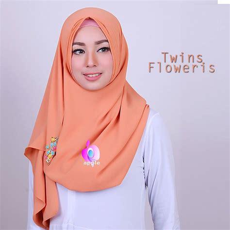Terbaru Pastan Nurjannah 2 Faces 1 jual pastan 2 floweris by apple toko jilbab branded instan