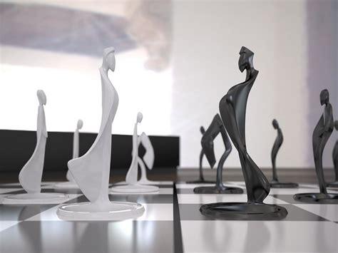futuristic chess set 100 futuristic chess set aluminum machined chess