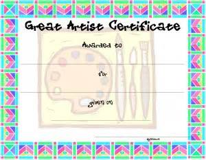 certificate template for kids free printable certificate