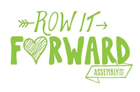 assembly quot row it forward quot for heading home