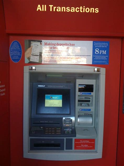 bank of america atm bank of america atm your deposits and tax dollars went