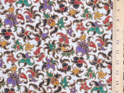 design batik cotton batik design printed pure cotton fabric at efabrics co uk