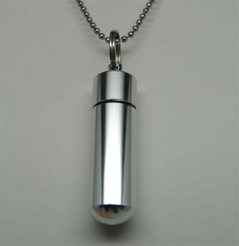 memorial jewelry s cremation jewelry urn necklace keepsake engravable cylinder urn memorial ebay