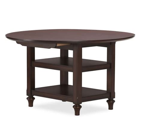 drop leaf kitchen island table shayne drop leaf kitchen table mahogany pottery barn