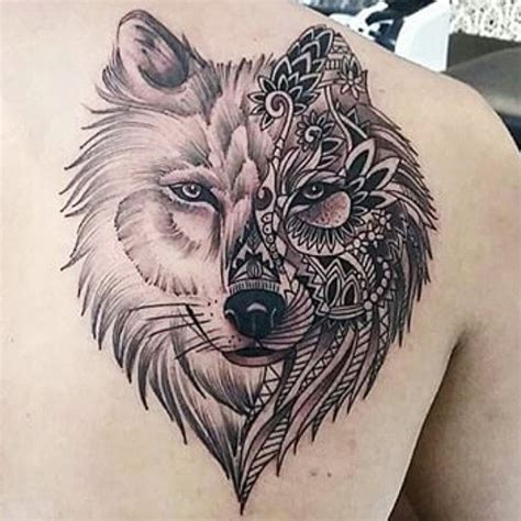 mandala wolf tattoo on instagram