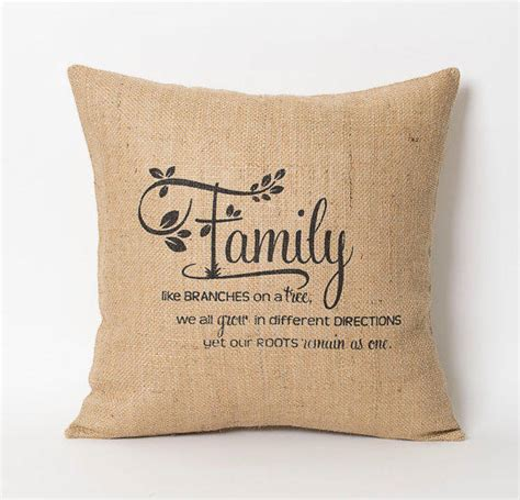 Family Pillows by Family Pillow Family Like Branches On A From Natuurdesign On