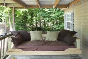 for such a time as this porch bed swing